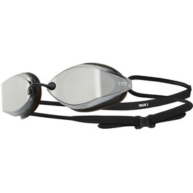 TYR Tracer X-Racing Mirrored Goggles Silver/Black